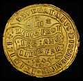 England (Great Britain) 1644 Triple Unite of Charles I (rev).jpg