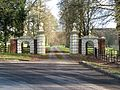 Entrance gates to Place Newton (geograph 4370890).jpg