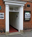 Entrance to Polling Station - geograph.org.uk - 422865.jpg