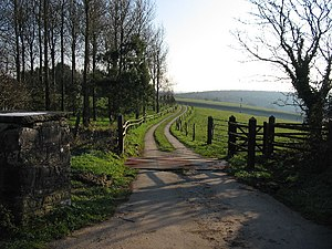 St Hilary, Vale of Glamorgan - Entrance to Coed Hills