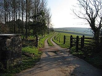 Coed Hills - Entrance to Coed Hills farm