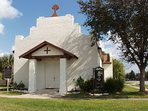 Palacios, Texas - One of many small churches in Palacios