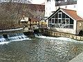 Erfurt Gera-vor-Schlösserbrücke Feb-2012 SL276775.JPG