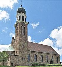 Eschringen Pfarrkirche St. Laurentius.JPG