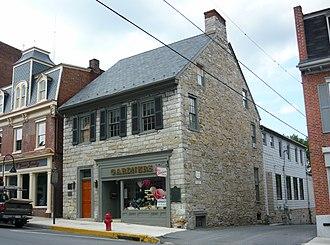 Espy House - Image: Espy House Bedford Pennsylvania