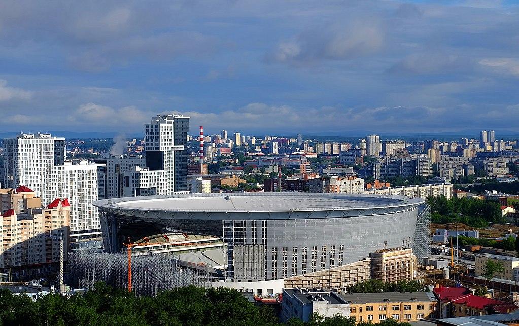 Central Stadium Russia