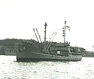 USS Estero (AG-134) - Image: Estero AG 134