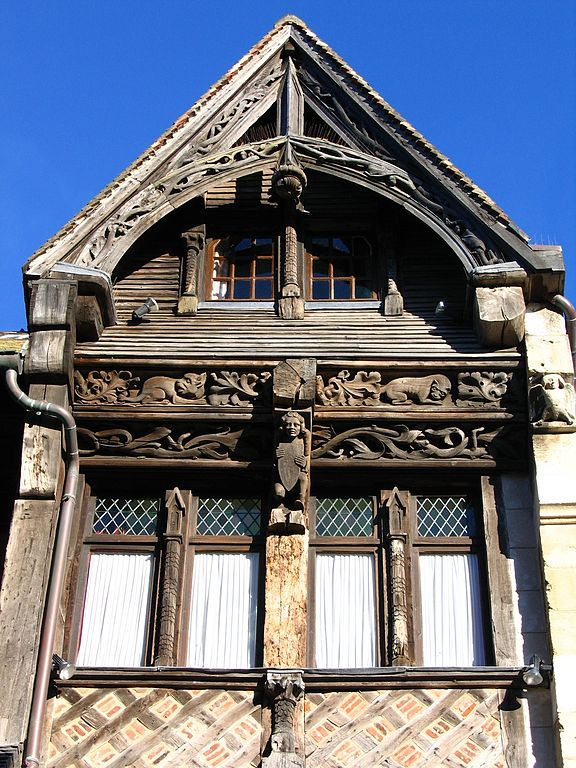 File:Etretat Décor De Maison À Colombages.Jpg - Wikimedia Commons