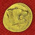 Etruschi, populonia, moneta d'oro da 50 unità, 400 ac ca..JPG