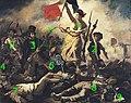 Eugène Delacroix - La liberté guidant le peuple, numbered.jpg