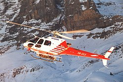 Eurocopter AS-350B-3 Ecureuil der Air Glaciers