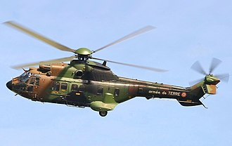 Eurocopter AS532 Cougar - Eurocopter AS532 the French Army