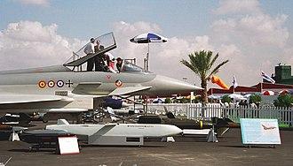 Dubai Airshow - An Eurofighter in 1998