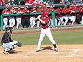 Evansville at Arkansas baseball, 2013 010.jpg
