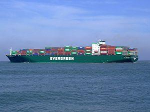 Ever Unific p5, leaving Port of Rotterdam, Holland 08-Apr-2007.jpg