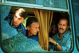 Exchange of prisoners in Bosnia