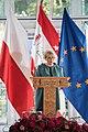 Ewa Osniecka and President Andrzej Duda at Opening-ceremony-0097 06.jpg