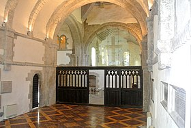 Ewenny Priory interior 062415.jpg