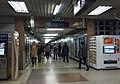 Exit B interface of Dawanglu Station (20171023165617).jpg