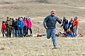 """Expedition Yellowstone group playing """"Run and Scream,"""" a Blackeet game (3) (46975523634).jpg"""