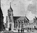 Exterieur en Sint Nicolaas Kerk reproductie van tekening in bezit van Gemeente archief - Maastricht - 20146679 - RCE.jpg