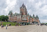 Exterior of the Château Frontenac and Terrasse Dufferin.jpg