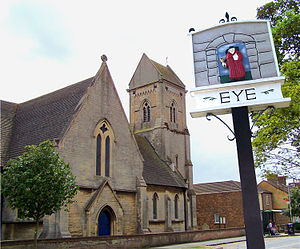 Eye, Cambridgeshire - Image: Eye parish church 2006 07 31 002web 2