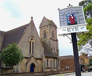 Eye, Cambridgeshire farm village in the United Kingdom