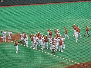 The Eyes of Texas - Image: Eyes of texas baseball