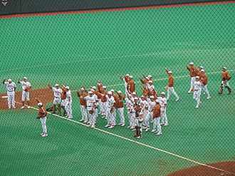 The Eyes of Texas - The Eyes of Texas after a University of Texas baseball game