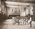 Fäktning Gymnastiska Centralinstitutet Stockholm ca 1920, gih0075.jpg