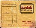 Fénykép boríték 1938, Schmidt Nándor fotószaküzlete és laboratóriuma. Fortepan 81569.jpg