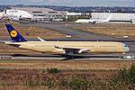 F-WZNC (D-AIXA 074) Airbus A350-941 Airbus Industrie (Lufthansa) TLS 15SEP16.jpg