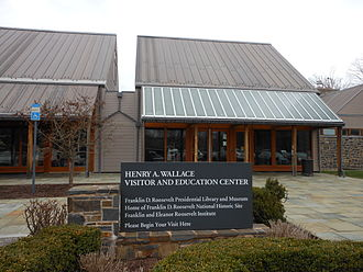 Franklin D. Roosevelt Presidential Library and Museum - Visitor Center at the Franklin Delano Roosevelt National Historic Site