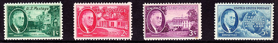 FDR Set4 1945 Issue