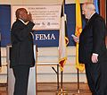 FEMA - 42705 - Tony Russell being sworn in by FEMA Administrator Fugate in Texas.jpg