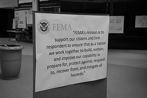 Mission statement - US Federal Emergency Management Agency's Mission Statement Poster