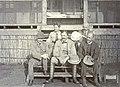 FPM 2. Percival Mackie Uganda, 1908. L-R Percival Mackie, Lady Bruce, Sir David Bruce, H.R. Bateman, A.E. Hamerton. Photo courtesy of Peter and Joanna Mackie.jpg