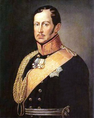 Battle of Schleiz - King Frederick William III