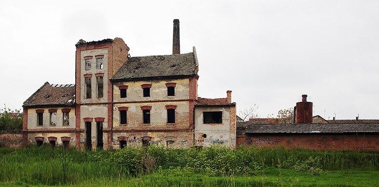 Fabrika alkohola (Pivara) u Zrenjaninu, izgled fabrike