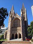 Facade St John's Cathedral, Brisbane 052013.jpg