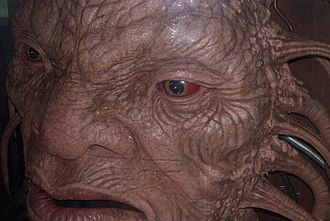 Gridlock (Doctor Who) - The Face of Boe as shown at the Doctor Who Experience.