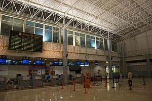 Asturias Airport - Check-in hall