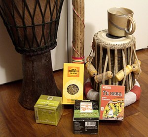 Fair trade - Fair trade goods sold in worldshops