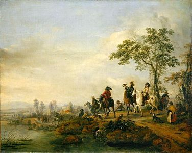 Falconers-Return-Home-from-the-Hunt,-1658-60-large.jpg