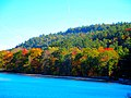 Fall Foliage a long Devil's lake - panoramio.jpg