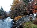 Falls of Dochart - Beerdigungsstätte des Clans MacNab - Braveheart-Athmo.jpg
