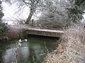 Farm bridge across stream - geograph.org.uk - 1122815.jpg