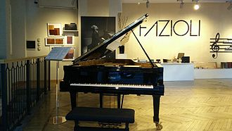 Fazioli - A Fazioli F308 in the Milan Showroom