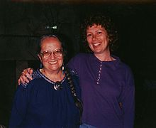 Felicitas Goodman and student, ca. 1988.jpg